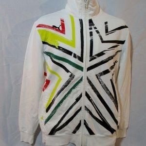 PUMA AFRICA Fitness Running Sweatshirt Track Jackt